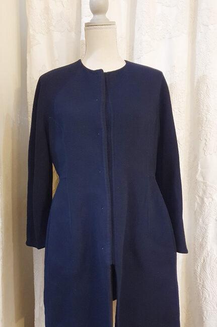 Cappotto Valentino in lana cotone e seta