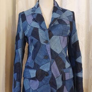 Giacca Dior denim patchwork